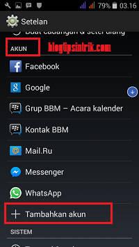 Cara Membuat Akun Email Gmail Baru Di Hp Android Plus Gambar Blog Tips Trik