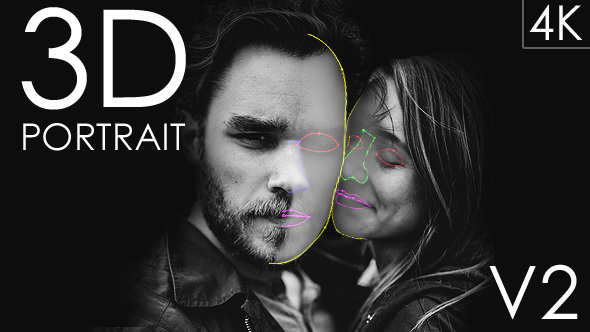 3D_Portrait_V2_Preview_Image 3D Portrait (Version 2) Videohive – Free Download After Effects Template download