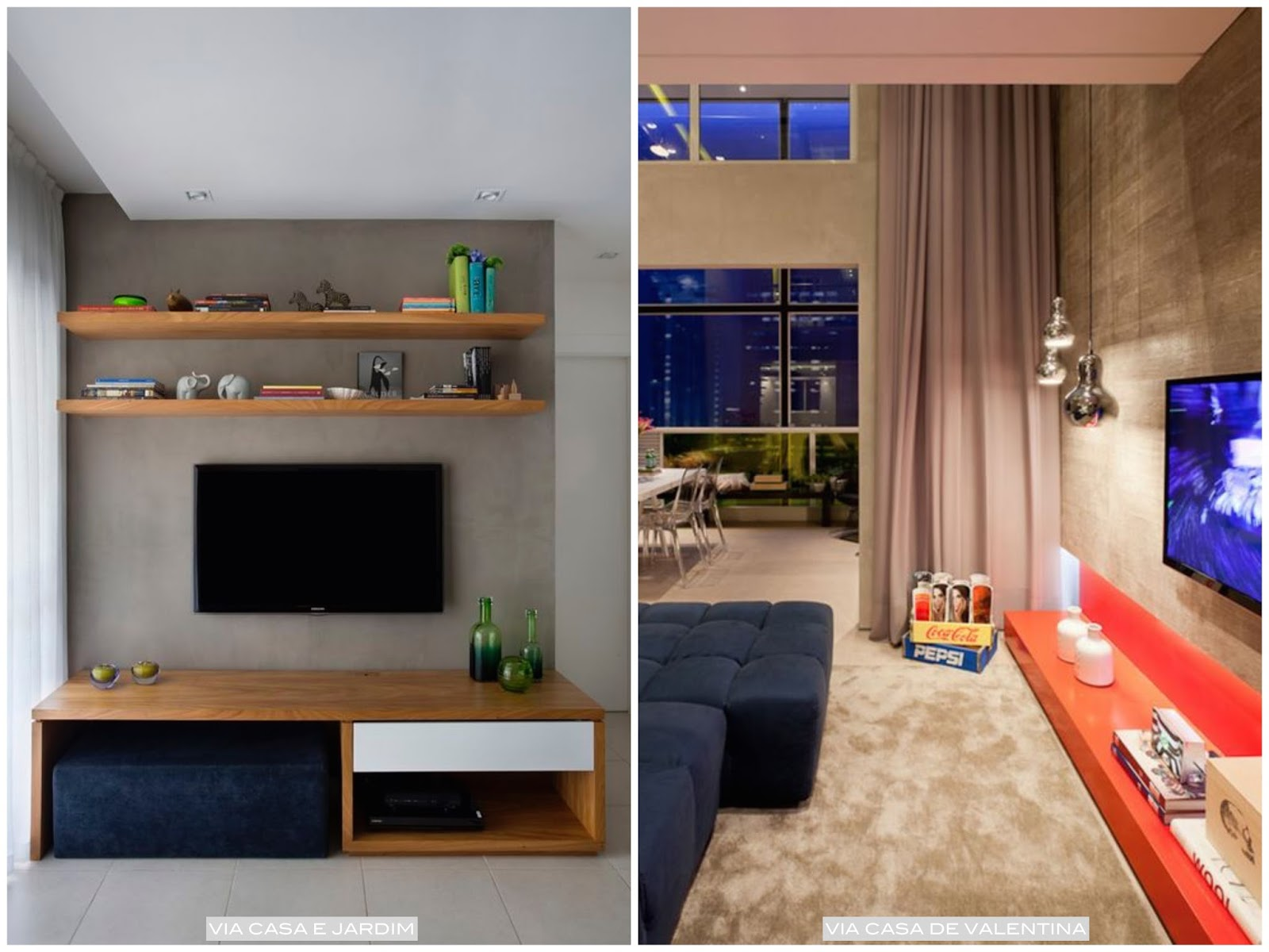 Arquivos Sala De Estar Living P Gina 2 De 3 Casa Pensada -> Pinturas De Sala Pequena