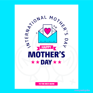 happy mothers day wish card
