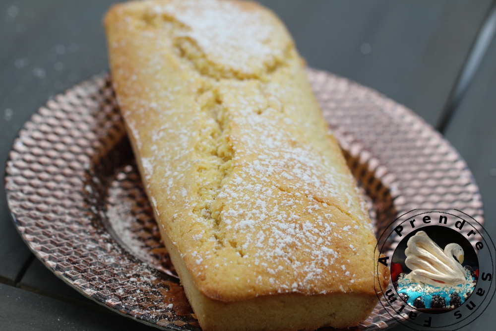 Cake au citron sans gluten