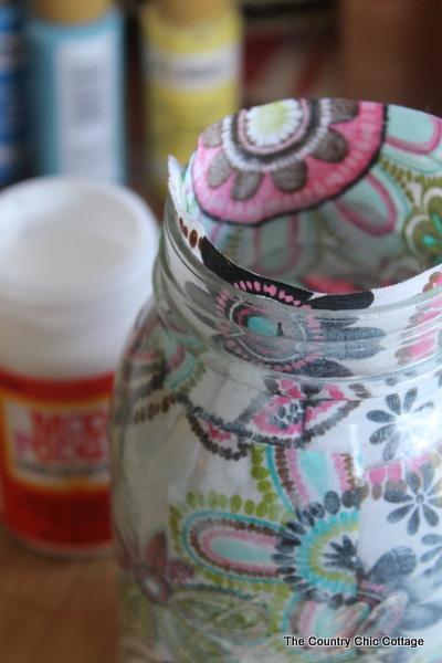 decorating mason jars five ways