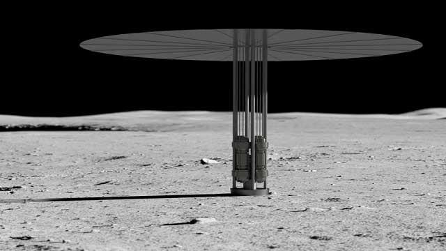 لماذا ترغب ناسا في بناء مفاعل نووي على القمر