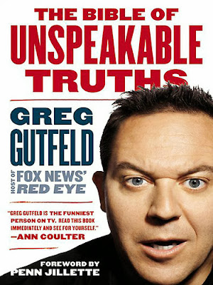 The Bible of Unspeakable Truths by Greg Gutfeld – Book cover