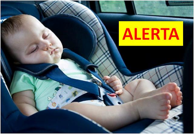 Cadeirinha de bebê é segura