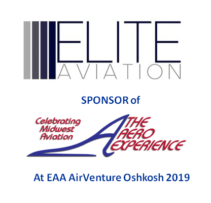 Elite Aviation Sponsor of The Aero Experience at EAA AirVenture Oshkosh 2019