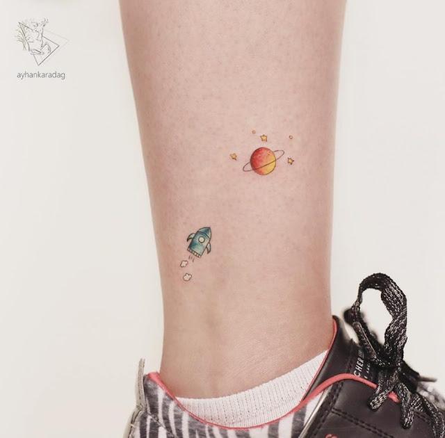 Tatuagens minimalistas