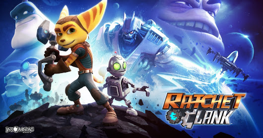 Ratchet and Clank Movie Debut 2016