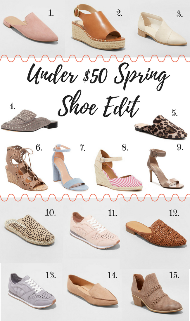 Nineteen Windsor: Under $50 Spring Shoe Edit