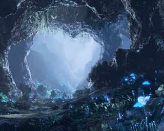 Wizja podziemnych jaskiń