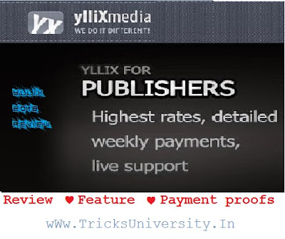 yllix review an more earning trick hack 2016