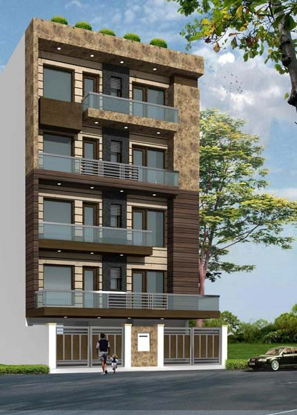 Multi Storey Residential Building Design