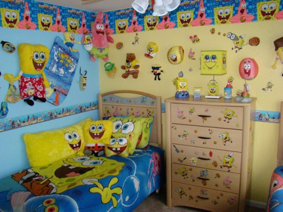 Home Sweet Design Spongebob Squarepants Room Design Ideas