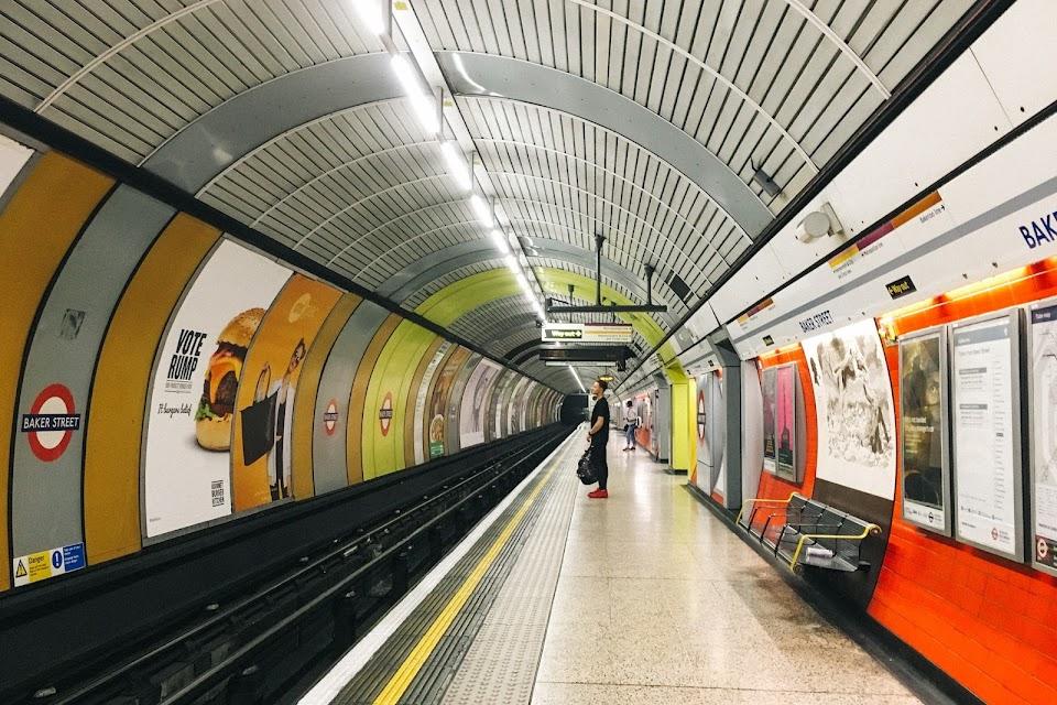 ベーカー・ストリート駅(Baker Street tube station) ジュビリー線(Jubilee Line)
