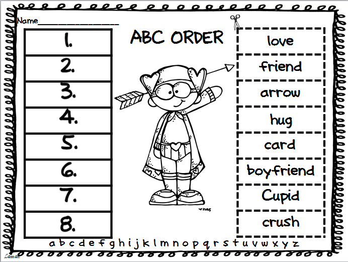 Teacher Deals and Dollar Steals!: ABC Order Through The