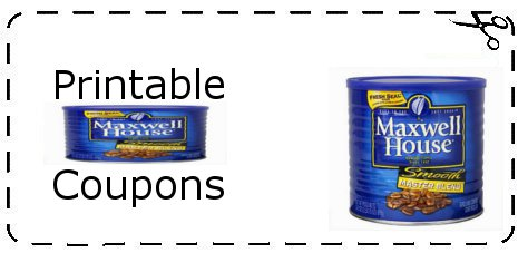 photo about Maxwell House Printable Coupons identify Maxwell home espresso printable coupon 2018 - Joseph a financial institutions
