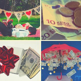 Pedir dinero en la boda