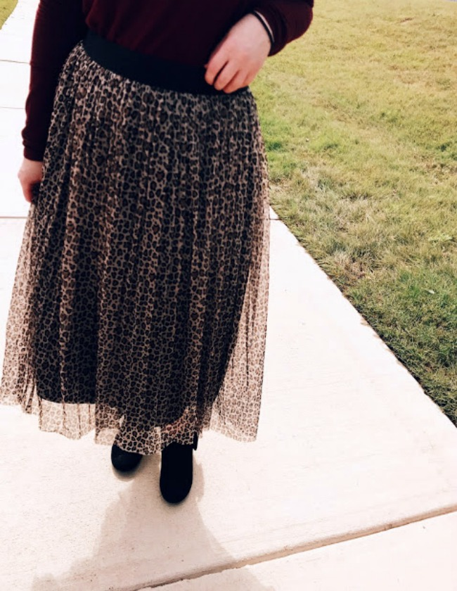 The Leopard Tulle Skirt