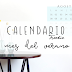 Freebie: Calendario Agosto - Wallpaper