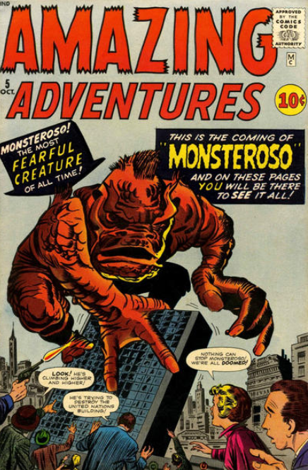 Kirby Ditko Covers