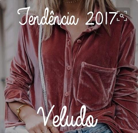 Tendência 2017 - Veludo