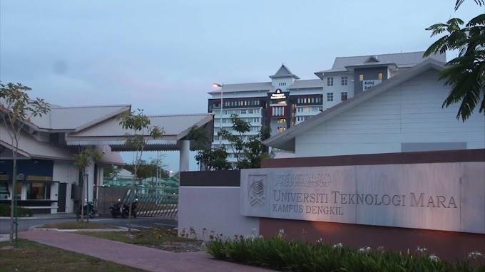 Ikut Adik Daftar di UiTM Dengkil, Selangor