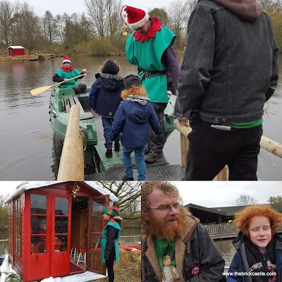 Martin Mere christmas Sail with Santa