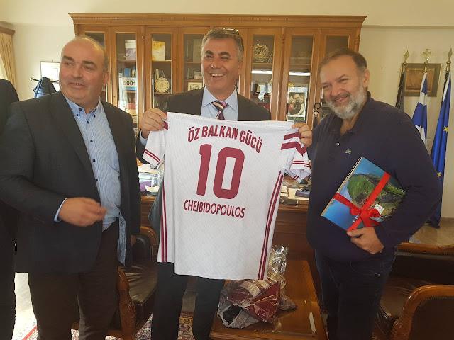 Τούρκους αξιωματούχοι επισκεφθηκαν τον Αντιπεριφερειάρχη Αργολίδας