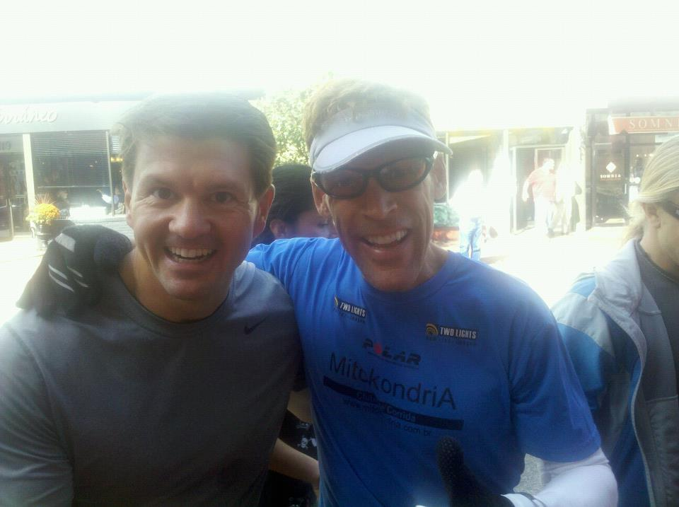 Back-to-back 26.2's... and Dean Karnazes!