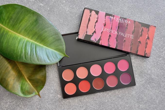 Mesauda Lipstick palette: dieci color glam per le labbra