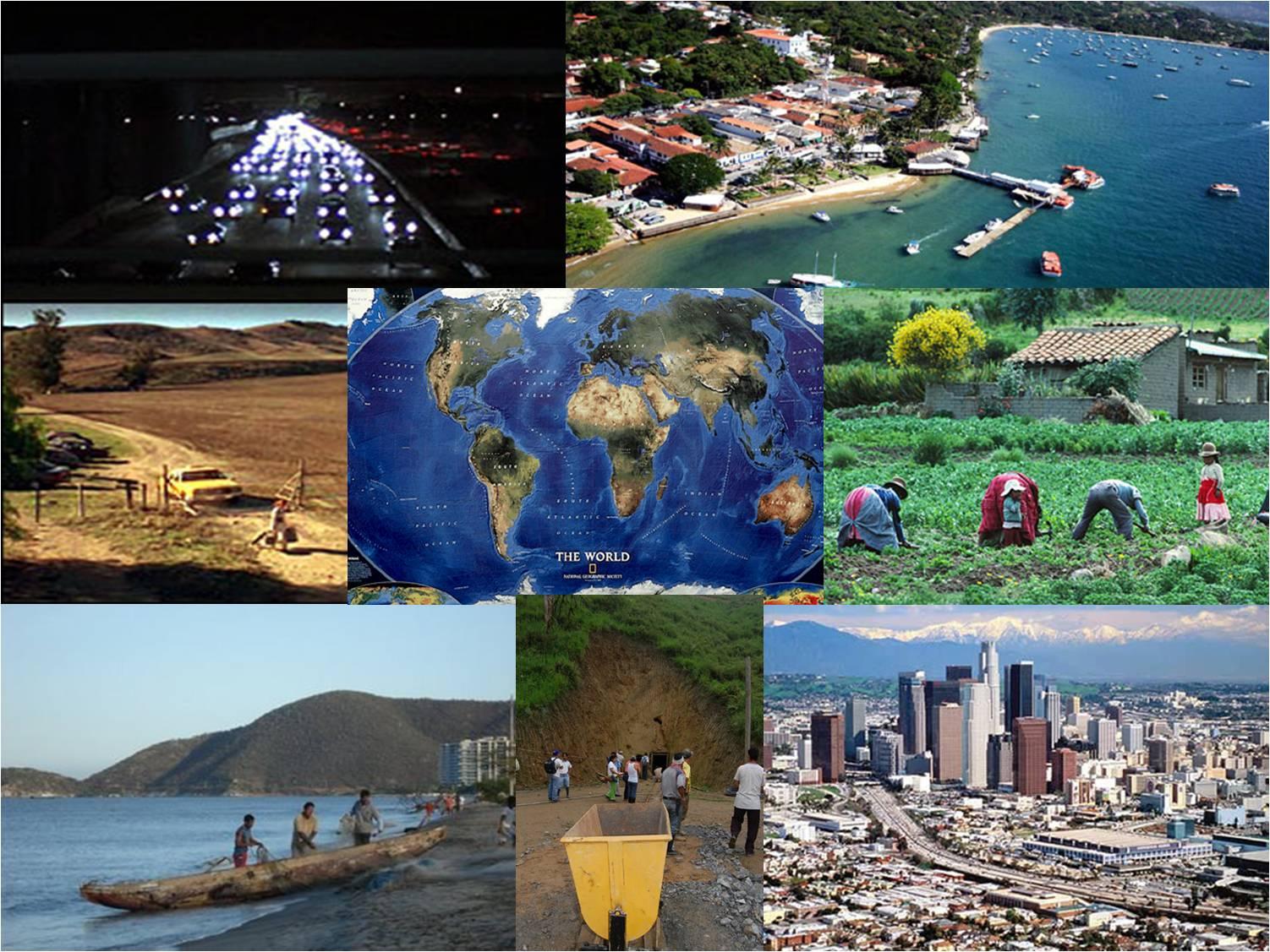 Geografía Alrededor Del Mundo Exposicion 5 Componentes Del