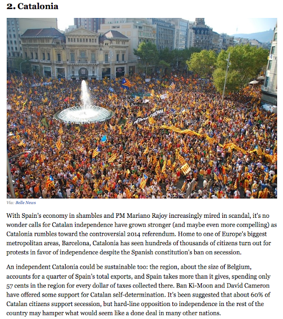 Cataluña independiente según Harvard