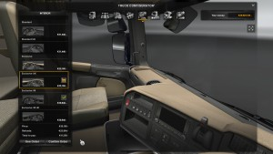 Rainbow Dashboard v 1.0 for Scania Streamline