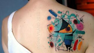 foto 8 de tattoos inspirados en obras de arte