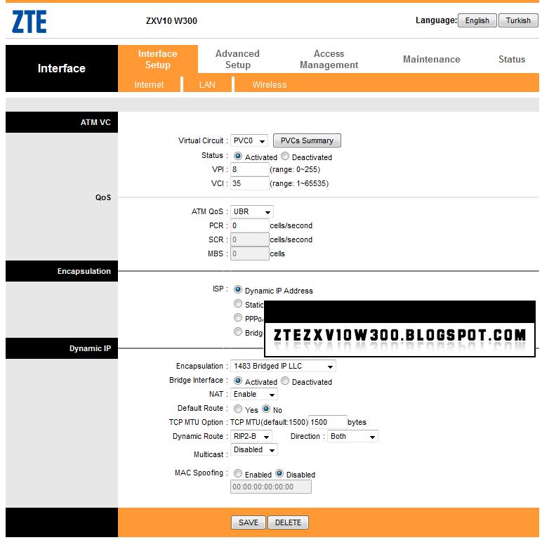 ZTE ZXV10 W300 FIRMWARES DOWNLOAD: W300V2 0 2b_DR0_TR1