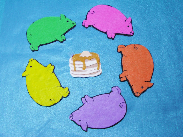 Flannel Board Pigs and Pancakes