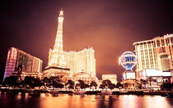 Wallpaper: Glowing of Las Vegas