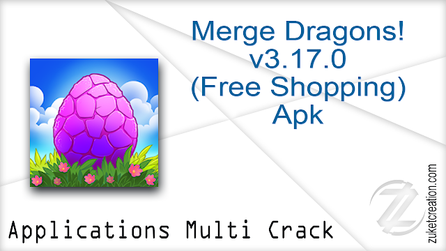 Merge Dragons! v3.17.0 (Free Shopping) Apk
