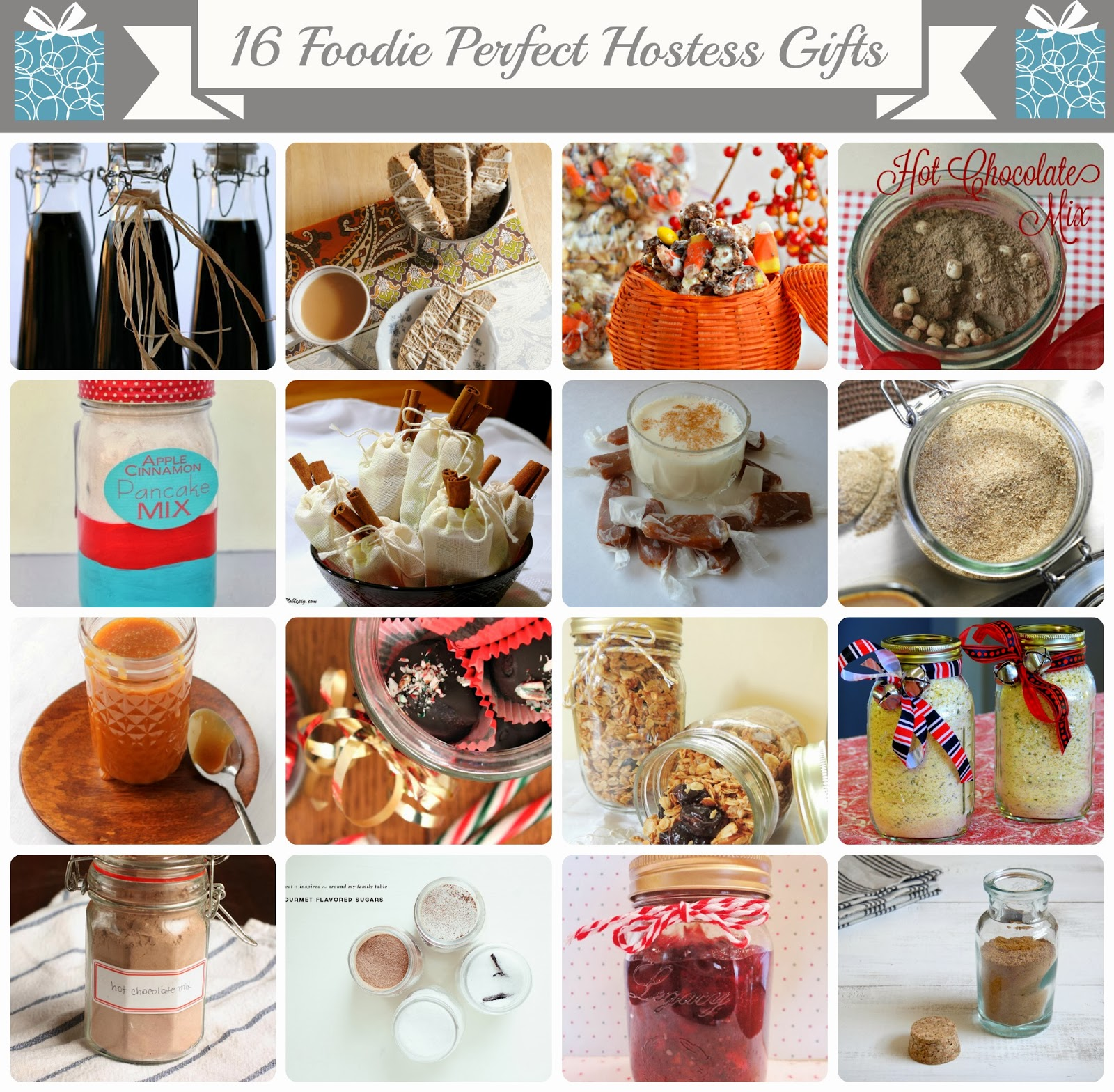 Frugal Foodie Mama: 16 Foodie Perfect Holiday Hostess Gifts