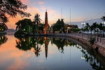 Tran Quoc Pagoda hanoi west lake