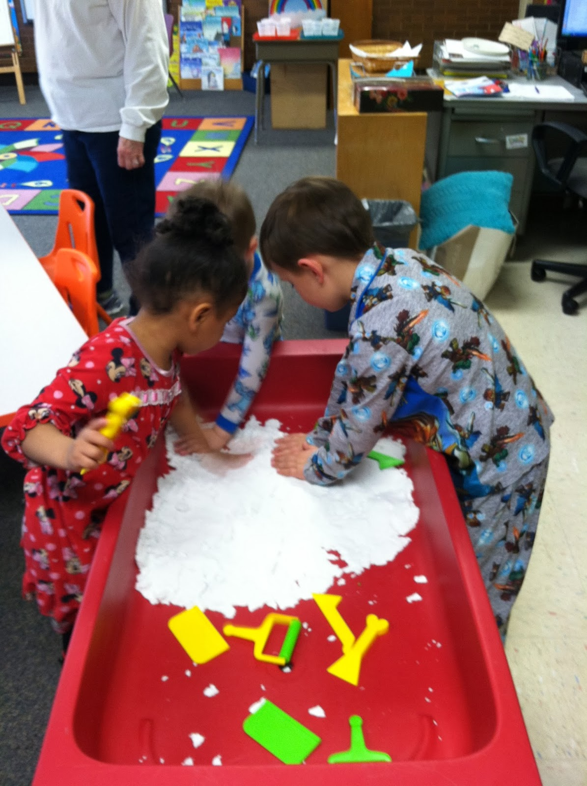 Pre School Pajama Day In Preschool For Nlsw