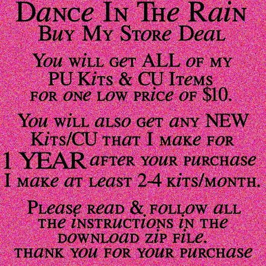 Dance In The Rain - Buy My Store Deal
