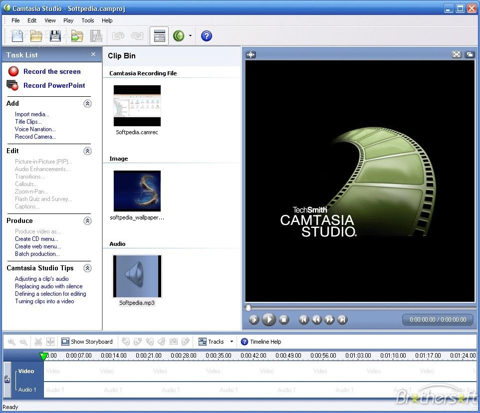 Camtasia Studio 5 + Serial.