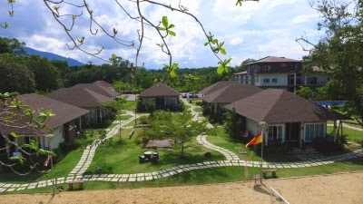 retreat resort lundu online booking contact