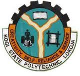 KOGIPOLY, Lokoja 2017/2018 ND Full-Time Admission List Out
