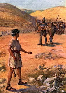 David and Goliath came at each other with vastly different approaches to the battle.  What can we learn from the contrast?