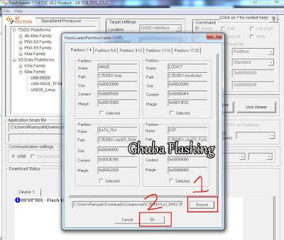 Tutorial Cara Flashing Samsung GT C3322 Via Flash Loader
