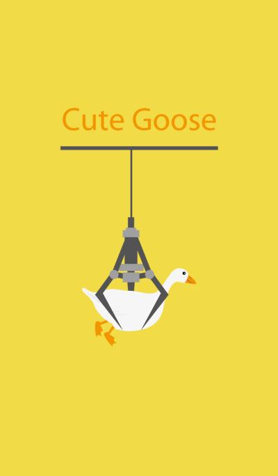Cute clip doll machine-goose