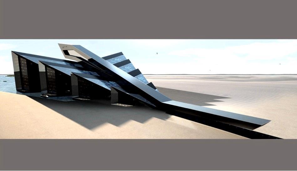 porsche design studio architecture marina studies cars. Black Bedroom Furniture Sets. Home Design Ideas