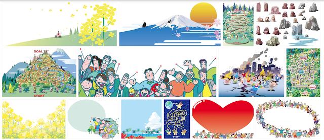 イラスト制作、ストックイラスト、シャッターストック、マイクロストック。川野隆司、イラストレーター
